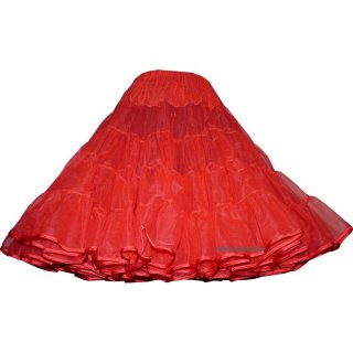 Organdypetticoat malco hell rot Band 40 yard