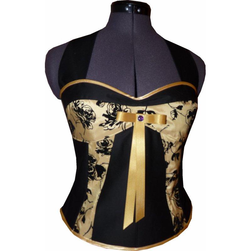 Goldenes kleid festlich