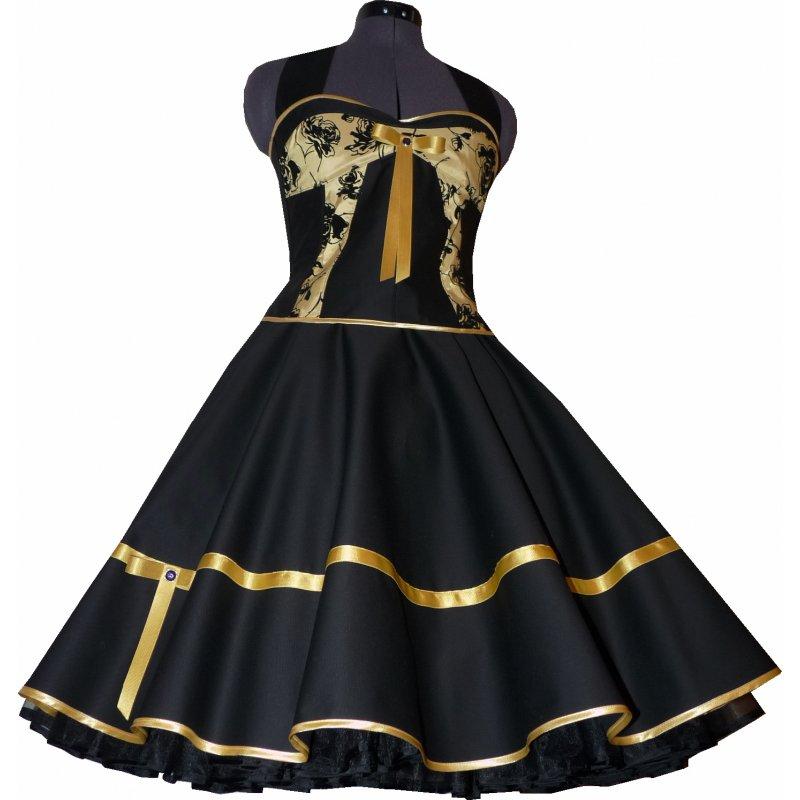 kleid gold und schwarz stilvolle kleider in dieser saison. Black Bedroom Furniture Sets. Home Design Ideas