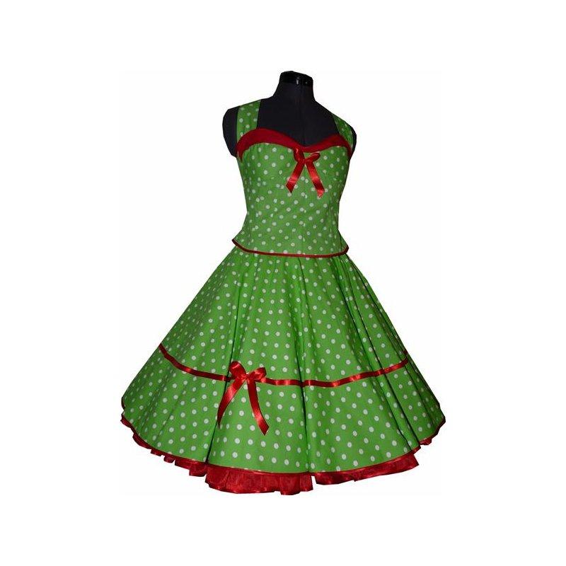 Kleider 50er grun