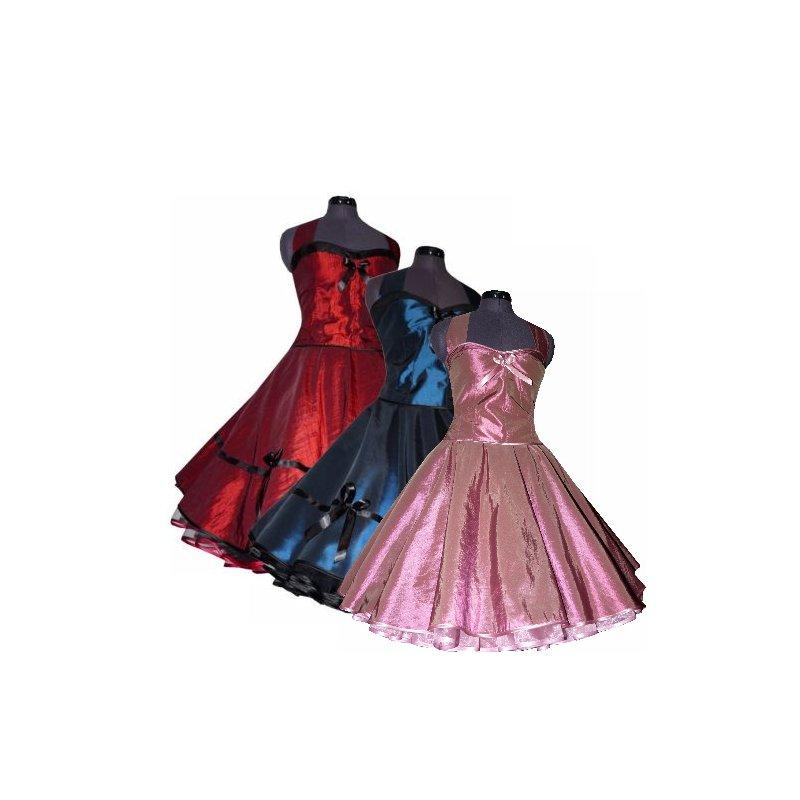 taftkleid zum petticoat korsage bordeaux 50er jahre stil tanzkleid. Black Bedroom Furniture Sets. Home Design Ideas