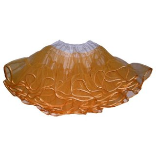 leichter Petticoat orange