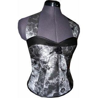 50 Jahre Stil taftkleid zum petticoat im 50er jahre stil fuchsia blumen 3d - tanzkl