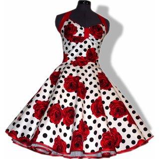 Rote petticoatkleider