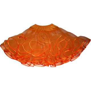 Petticoat orange einlagig