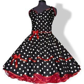 Petticoat kleid schwarz weib