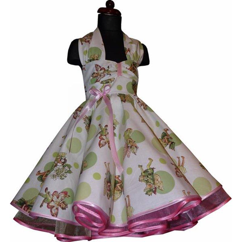 Kinder Petticoat Kleid glitzernde Elfen und Punkte ...